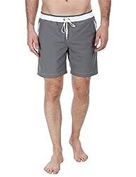 Zobello Mens Swim Shorts (41002D_Grey_Medium)