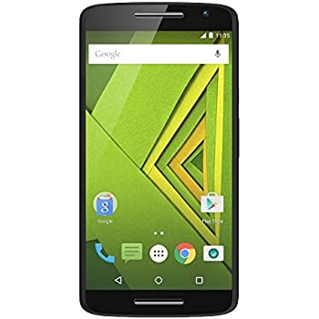 "Motorola Moto X Play - Smartphone de 5.5"" (Full HD, 4G, 1.7 GHz Octa Core, 2 GB RAM, 16 GB, cámaras de 21/5 MP, Android 5.1.1) color negro"