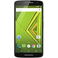 Motorola Moto X Play Smartphone débloqué 4G (Ecran: 5,5 pouces - 16 Go - Double Nano - Android 6.0 Marshmallow) - Noir