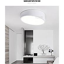 ANGEELEE Geometría creativa para iluminación de techo LED circular inclinada arte minimalista moderno estudio de personalidad luces sala dormitorio principal lámpara 25CM