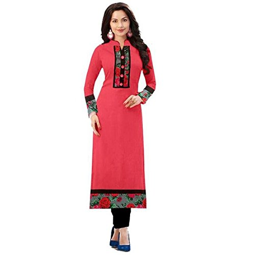 denim Women's New Fashion Designer Fancy Wear Collection Low Price Todays Best Deal Special Offer All Type Of Modern Georgette Red Lehenga Choli  available at amazon for Rs.299