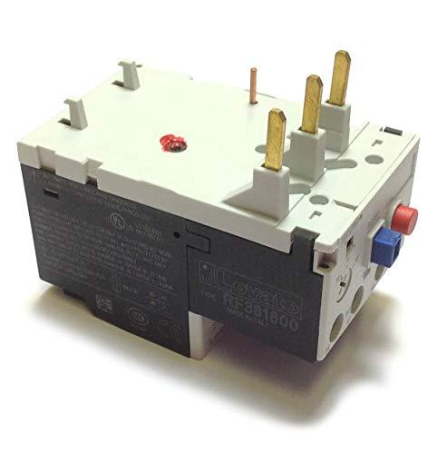 Lovato Elektro rf381800Motor Schutz Relais, Phase Failure/Single Phase Sensitive. Drei Pole (Drei Phase), manuelle oder automatische Zurücksetzen. Direkter die Montage auf BF09-BF38Schütze, 13... 18A