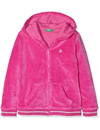 United Colors of Benetton Jacket W/Hood L/S, Chaqueta para Niñas