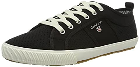 GANT FOOTWEAR Herren Samuel Low-Top, Schwarz (Black), 44 EU