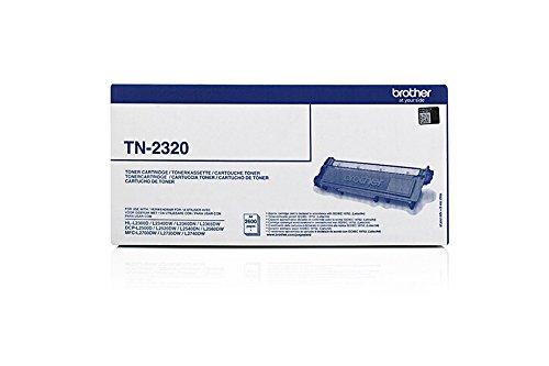 2300 Opc-trommel (Toner ORIGINAL zu Brother HL-L 2300 Series / 2320 D / 2321 D / 2340 DW / 2360 DN / 2360 DW / 2361 DN / 2365 DW / 2380 DW / MFC-L 2700 DW / MFC-L 2700 Series / MFC-L 2701 / MFC-L 2701 DW / MFC-L 2703 DW / MFC-L 2720 DW / MFC-L 2740 CW / MFC-L 2740 DW / DCP-L 2500 D / DCP-L 2500 Series / DCP-L 2520 DW / DCP-L 2540 DN / DCP-L 2560 DW / DCP-L 2700 DW, 1x black / schwarz, 2.600 Seiten, ersetzt TN-2320)