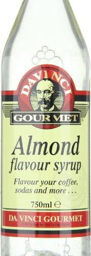 Da Vinci Gourmet Classic Aroma Syrup Almond, 1er Pack (1 x 750 ml)