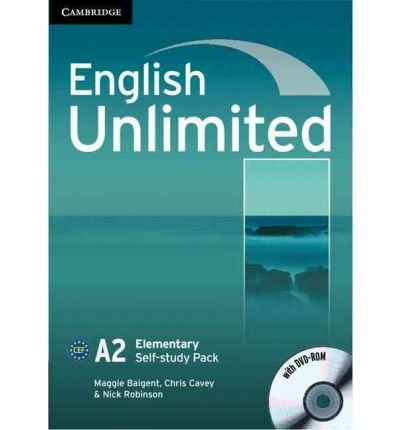 [(English Unlimited Elementary Self-study Pack (Workbook with DVD-ROM))] [Author: Maggie Baigent] published on (August, 2010)