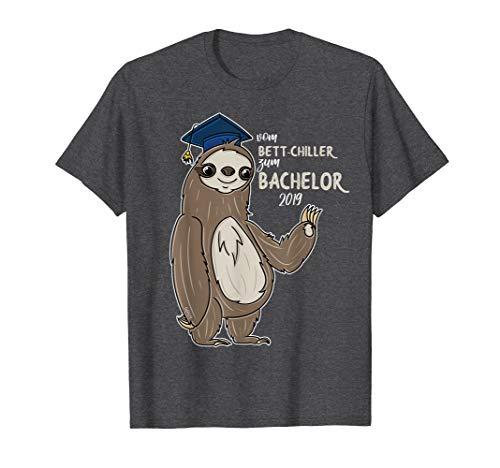 Bachelor 2019 T-Shirt Abschluss Geschenk Bettchiller Lustig -