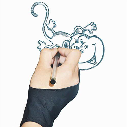 dibujo-guante-antiincrustantes-tablet-lycra-grafica-digital-artista-dibujo-con-dos-dedos-guantes