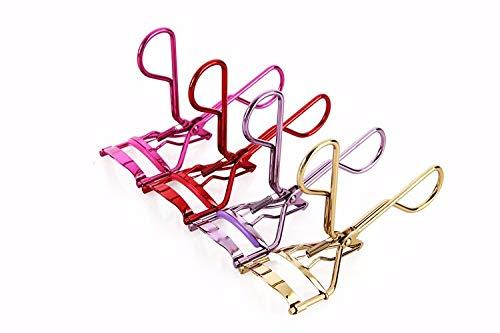 LissyPhants Wimpernzange Yeshi hochwertig schmerzfrei aus Edelstahl mit kostenlosem Ersatz Silikonpad Classic Eye Lash Curler professioneller Wimpernformer Wimpern (Pink)