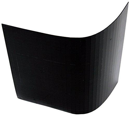 Spiegelmatten 10mm Facetten in der Größe 30 x 30cm schwarz zum Aufkleben