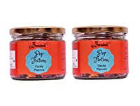 Decadenz Pop Fiction Gourmet Candy Popcorn - 70 GMS (Combo Gift Pack of 2 Jar)