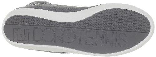 Dorotennis Tennis Montante Street Nylon/Velcro, Scarpe da Ginnastica Donna Grigio (Gris (640 Ombre))