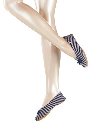 ESPRIT Damen Stoppersocken Traveling Ballerina, Blau (Marine 6120), 39-40