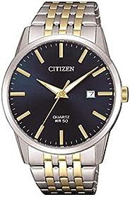 CITIZEN Mens Quartz Watch, Analog Display and Stainless Steel Strap - BI5006-81L