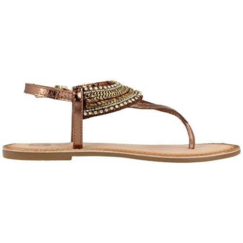 Gioseppo Fara mädchen, glattleder, sandalen Bronze