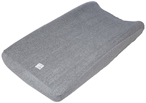 Burt's Bees Baby Organic Knit Terry Changing Pad Cover, Heather Grey by Burt's Bees Baby