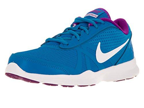 Nike Damen W Core Motion Tr 2 Mesh Gymnastikschuhe, Talla Azul (Photo Blue / White-Hyper Violet)
