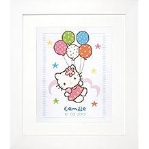 Vervaco - Kit para cojín de Punto de Cruz, diseño de Hello Kitty ...
