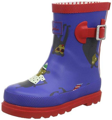 Toddler Schuhe Boy Toms (Tom Joule Jungen Baby Boys Welly Lauflernschuhe, Blau (Dzbmnky), 21 EU)