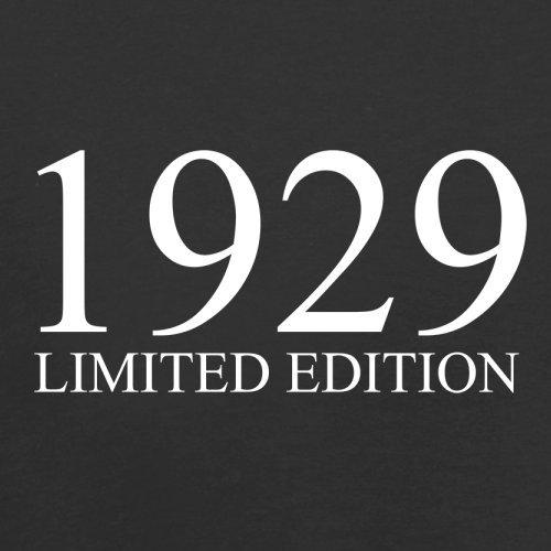 1929 Limierte Auflage / Limited Edition - 88. Geburtstag - Herren T-Shirt - 13 Farben Schwarz