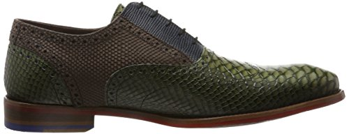 Floris van Bommel Herren 19103 Oxfords Grün (Green)