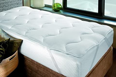 Savel – Sur-matelas/Topper 4 Saisons, - 300g/m2 - Grand Confort - 140x190cm | Protège-matelas | Alèse – disponible en plusieurs dimensions