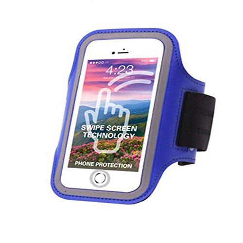 RANRANHOME Touchscreen-Fingerprint-Laufarm-Paket,Blue