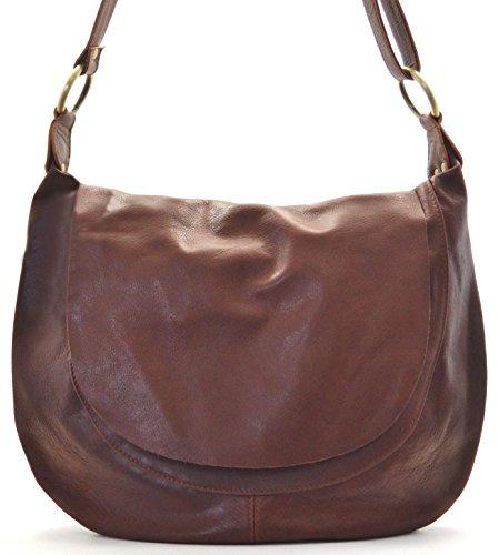 5bc07b44ac OH MY BAG Sac à Main cuir souple femme - Modèle Perla (petit)
