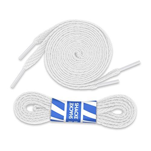 Shacke - Bianco Lacci Piatti Shacke 5/40,6cm (2 Paia) 30