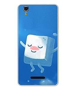 PrintVisa Cute Ice Cube High Gloss Designer Back Case Cover for YU Yureka :: YU Yureka AO5510