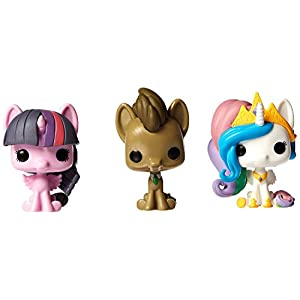 My Little Pony Pocket POP 3 Pack Tin Hooves Princess Celestial Twilight Sparkle