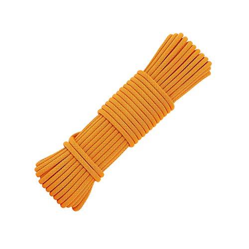 LIINAWS corda Corda da costruzione da 12 mm, filo in poliestere ad alta resistenza che torce processo a doppio filo tessitura morbida resistente all'usura e resistente allo sporco facile da pulire
