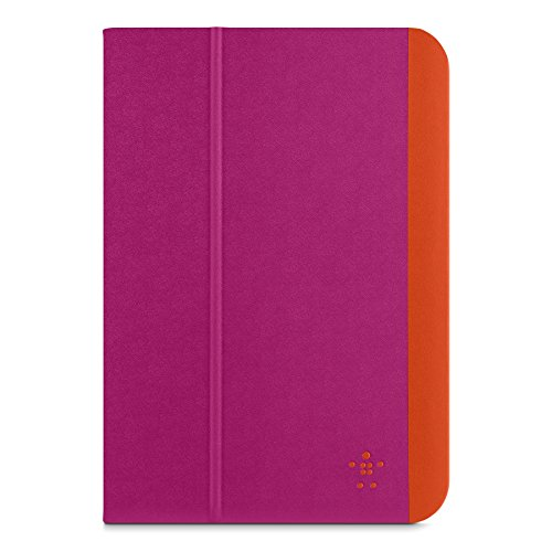 Belkin Slim Style Schutzhülle (geeignet für Apple iPad Mini 1/2/3) rosa/orange
