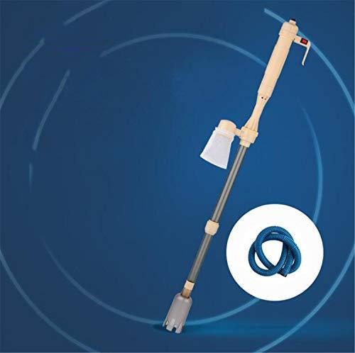 CASEY-L Elektrischer Aquarium-Kies-Reiniger, Wasser-Wechsler-automatische Vakuumfilter-Aquarium-Reinigungs-Sand-waschende Saugtoiletten-Pumpe Gold