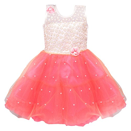 Wish Karo Baby Girls Party Wear Frock Dress DN fe2215-6-12 Mths