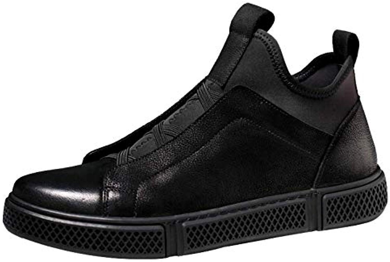 WANG-LONG Stivali da Uomo Scarpe Martin Sportivi Traspiranti Casuali in in in Pelle Autunno Inverno Moda Antiscivolo... | Prezzo speciale  93e5c7