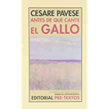 Antes De Que Cante El Gallo (Narrativa Contemporánea)