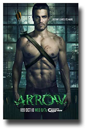 Arrow Poster TV Show Promo 28 x 43 cm grün Shirtless