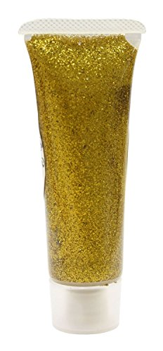 Gold 907078 Effekt Glitzergel, 18 ml (Halloween Make Up Effekte)