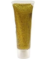 Eulenspiegel 907078 - Effekt Glitzergel 18 ml, Classic Gold