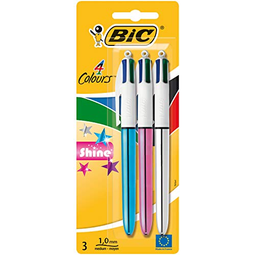 BIC 4 Colours Shine Ballpoint Pe...