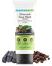 Mamaearth Charcoal Natural Face Wash for oil control and po