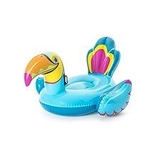 Bestway 41126 Schwimmtier Toucan ab 14 Jahren 207 x 150 cm Tipsy Swimming Toy, Multi-Coloured