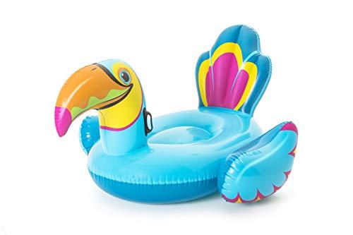 Bestway Tukan 180 x 150 x 89 cm, aufblasbares Schwimmtier mit extra viel Platz