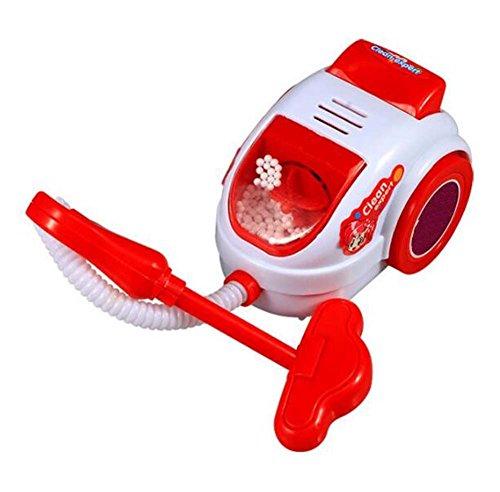 Kinder Simulation Pädagogisches Spielzeug Reizendes Rosa Staubsauger Spielzeug 24 * 9 CM