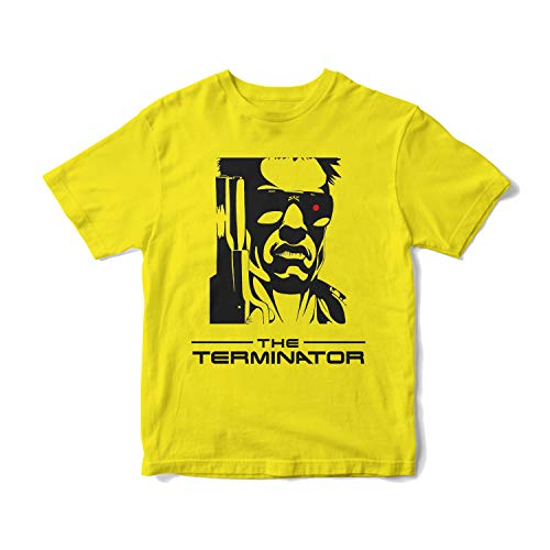 The Terminator Yellow T-shirt for Men