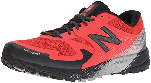 New Balance Summit KOM, Scarpe da Trail Running Uomo, Arancione (Flame/Black Fb), 42 EU
