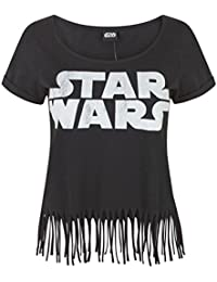 Star Wars Logo Women's Fringe Top