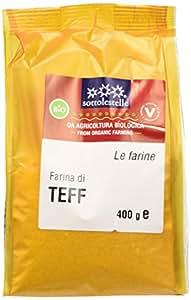 Sottolestelle Farina di Teff - 6 confezioni da 400gr - Totale  2.4 kg